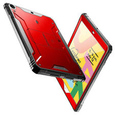 Apple iPad 10.2 (7th Gen 2019) Tablet Case [360° Protection] Cover Metal Red