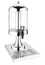 More details for deluxe juice dispenser st/st - 6.5ltr 265x355x570mm deluxe juice dispenser