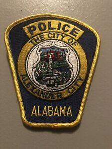 Alabama  Police - Alexander City   Police  AL  Police  Patch