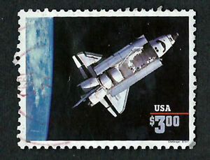 USA, SCOTT # 2544, USED YEAR 1995 SPACE SHUTTLE CHALLENGER IN GOOD CONDITION