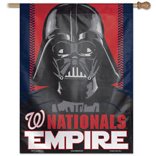 "Washington Nationals Darth Vader Vertical Flag 27"" x 37"""