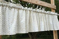 Gold Metallic Arrows Off White Cupids Arrow Geometric Handcrafted Valance a5/40