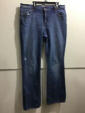 Levi's distressed ladies size 12 Boot cut 515 jeans