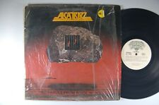 ALCATRAZZ No Parole From Rock 'N' Roll METAL LP Shrink ROCSHIRE Org Inner Sleeve