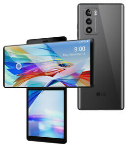 LG WING 5G LMF100VM - 256GB - Gray (AT&T) Factory Unlocked