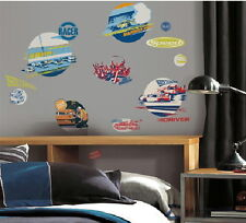 NASCAR Peel and Stick Wall Decals Appliques Stickers, NEW SEALED
