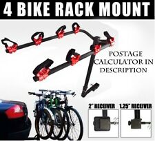 4 Bicycle Bike Rack Hitch Mount Carrier Car Truck Minivan FAST POST and WARRANTY