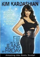 Kim Kardashian Fit In Your Jeans By Friday - Amazing Abs (DVD) NEW - FREE POST!