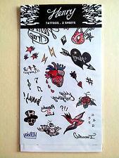 Super Junior SUJU Official Pop-up Store Goods - Henry Tattoos Tattoo - 2 Sheets
