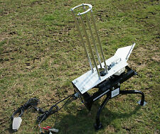 DEMO,GDK BLACK WING, CLAY PIGEON TRAP,12V, AUTOMATIC CLAY TRAPS,ELECTRIC THROWER