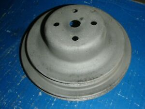 1965 1964 1963 Pontiac GTO Tempest Lemans A/C Water Pump Pulley AIR CONDITIONING