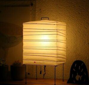 "AKARI w/ ISAMU NOGUCHI Light Lamp Shade Washi ""Stand Light 1X FULL SET"""