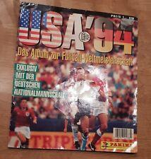 Panini WM 94 Sammelalbum WC 1994 KOMPLETT Album mit allen Sticker Stickeralbum