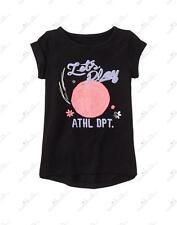 NWT Gymboree Gymgo Toddler Girls Let's Play Volleyball Print Tee, Size XXS (2T)