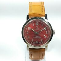 Vintage Tressa Hand Winding Movement Analog Dial Wrist Watch For Mens D16