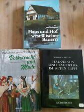 Bücher, Damals bei uns in Westfalen, Volkstracht, Bauern, Haus u. Hof, Lippe