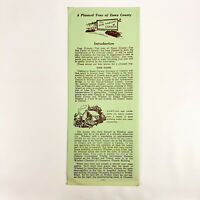 1950s Essex County Ontario Canada Vintage Travel Brochure Canadian Holiday Trip