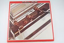 The Beatles 1962-1966 Red Greatest Hits Double LP Vinyl Records (1973 Pressing)