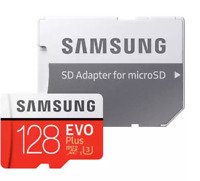 Samsung 128GB Micro SD U3 Card For Nextbase Dash Cam 622GW 522GW 422GW 322GW 222