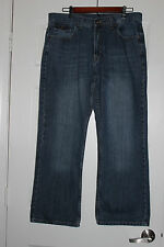 Flypaper Jeans Mens Size 34x30 Leather Cross Pocket Boot Cut