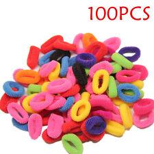 100PCS  Elastic Rope Ring Hairband Fashion Women Girls Hair Band Ponytail Holder