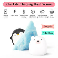 4000mAh Rechargeable Power Bank Hand Warmer Usb Charger Pocket Electric Heater