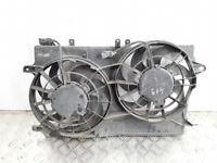 Saab 9-5 2001 2.3T cooling radiator fan motor set frame 3135103221 petrol 136kw