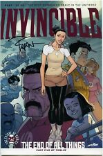 Invincible 137 Ryan Ottley Signed Image Comics Skybound The End of All Things