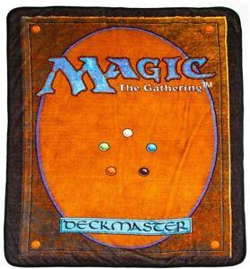 MAGIC THE GATHERING - FLEECE BLANKET 48x60 - BRAND NEW - THROW BZ72AJ