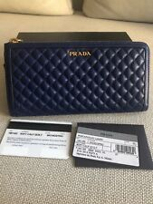 PRADA Wallet  1M1183 Soft Calf Quilt