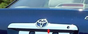 FITS TOYOTA COROLLA 2003-2008 STAINLESS STEEL CHROME REAR TRUNK MOLDING