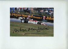 Arturo Merzario ISO Williams British Grand Prix 1974 firmato fotografia 3
