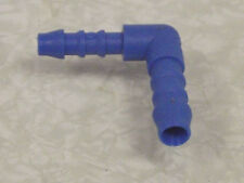 8mm (5/16) to 6mm (1/4 ) Reducing Hosetail Elbow in Tefen for Fuel Air Water Etc