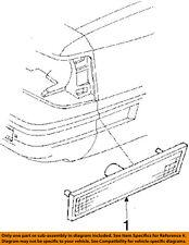 Oldsmobile GM OEM 85-87 Cutlass Ciera-Side Marker Light Lamp Right 5974004