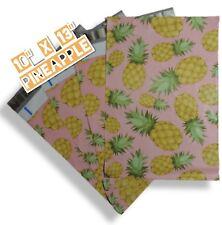 Upaknship 10x13 Pineapple Designer Poly Mailers Shipping Envelopes
