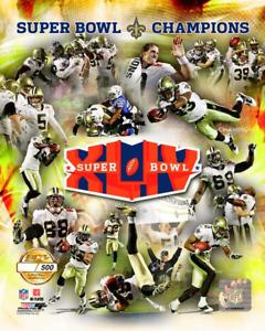 New Orleans Saints SUPER BOWL XLIV (44) Champions LIMITED EDITION 8X10 PHOTO