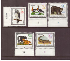 Germany DDR MNH 1985 Protected Animals Nature set mint stamps
