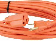 HDX 25 ft 16/3 Indoor/Outdoor Extension Cord Orange Light Duty PVC Outlet Lights