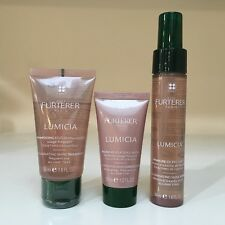 Rene Furterer Lumicia Shampoo 1.6 oz Conditioner 1 oz Shine Rinse 1.6 oz Trio