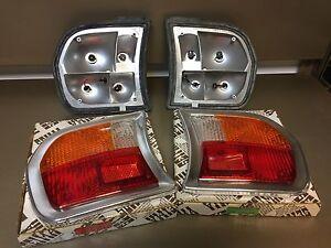 Peugeot 504 Berlina Sedan Rear Tail LEFT RIGHT light blinker Lens & Body
