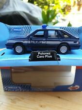 Welly Nex Policja Police Polonez Caro Plus Diecast Model Car Brand New Box 1:34