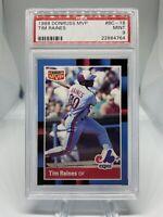 1988 Donruss MVP Tim Raines #BC-18 PSA 9 Hall Of Fame HOF Montreal Expos 🔥🔥🔥