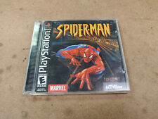 Marvel's S 00004000 Pider-Man Playstation One Ps1 Video Game Complete In Box