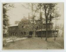 c1920 Silver Prints (3) Kappa Alpha Chapter House, Cornell Campus G.W. Fornell