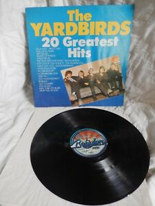 The YARDBIRDS~~~20 Greatest Hits~~~BABYLON U-80 050---german pressing