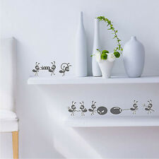 Cute Small Ants DIY Sticker Children's Bedroom Home Decal Window Wall Stickers