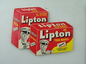 Vintage 1940's LIPTON TEA Sewing Needle Book, Made in West Germany