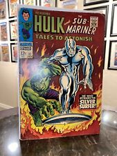 Tales to Astonish 93  Classic Silver Surfer Hulk Cover Nice Copy🔥