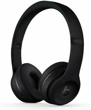 Beats by Dr. Dre Solo3 Solo 3 Wireless Headphones-MATTE BLACK-Brand New & Sealed