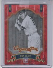 2012 Panini Cooperstown Red Crystal Ice Ron Santo /399 Extra Innings #30 Chicago